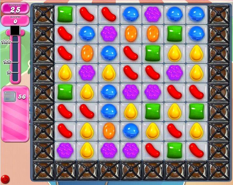 candy crush level 1596 cheats