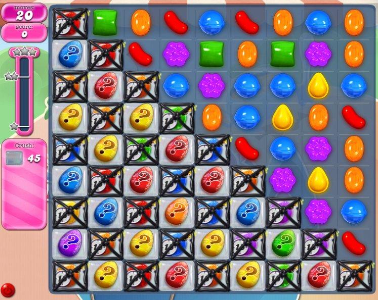 candy crush level 1605 cheats