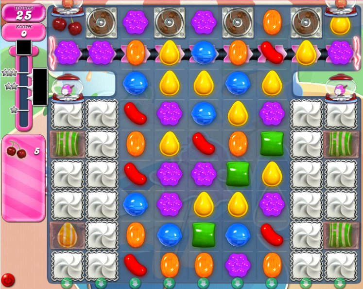 candy crush level 1610 cheats