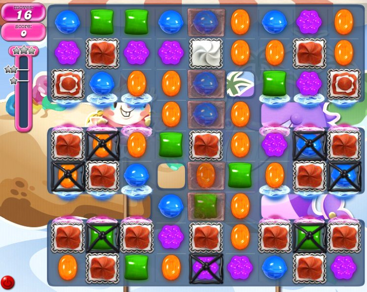 candy crush level 1633 cheats
