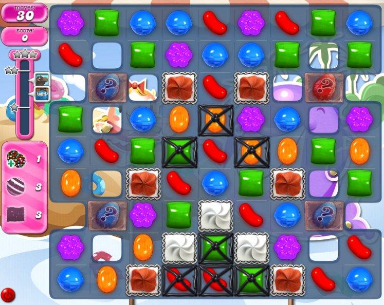 candy crush level 1634 cheats