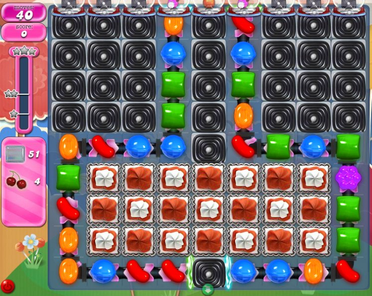 candy crush level 1697 cheats