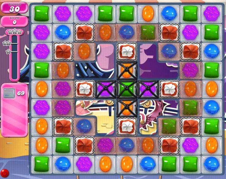 candy crush level 1777 cheats
