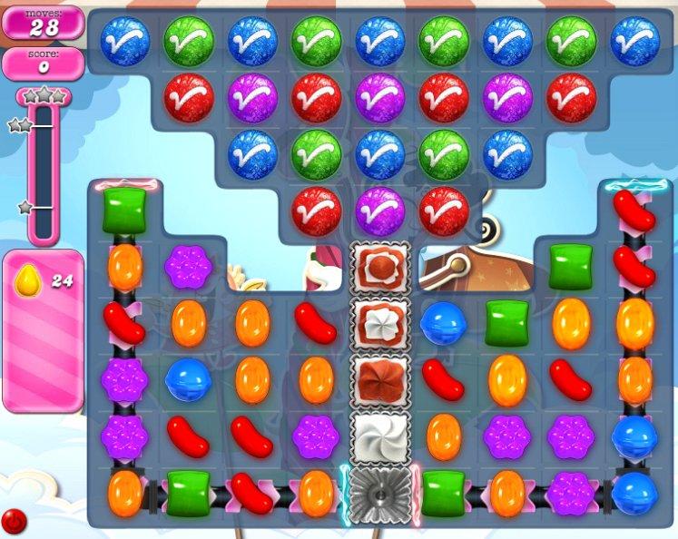 candy crush level 1812 cheats