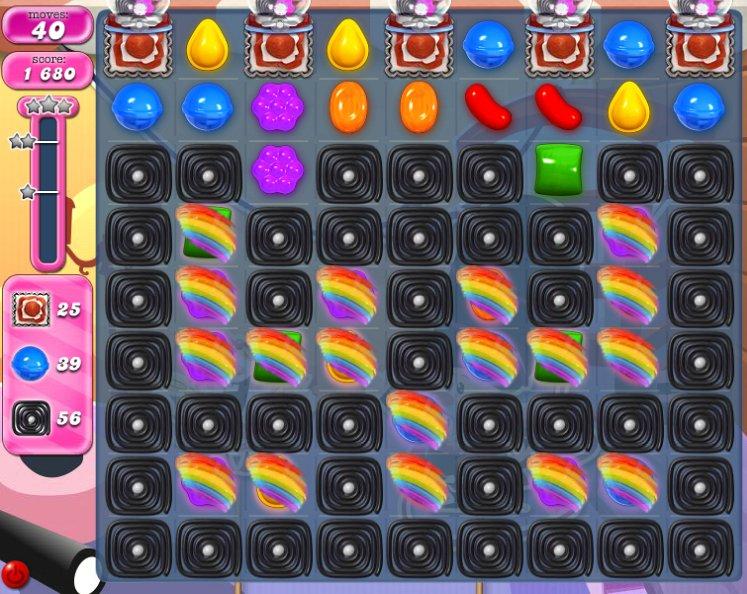 candy crush level 1841 cheats