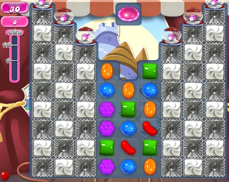 how to pass level 1952 candy crush
