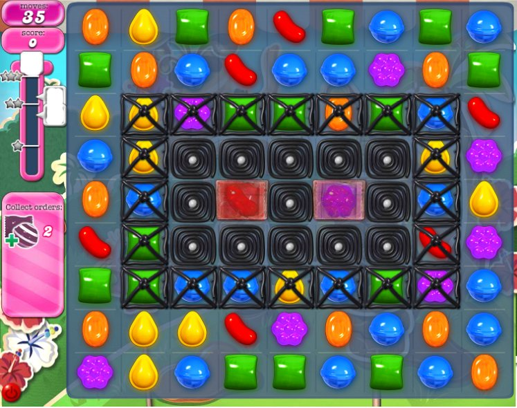 candy crush level 195 cheats
