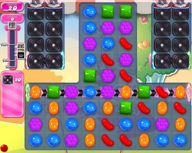 candy crush level 2087 cheats
