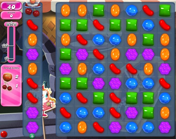 candy crush level 221 cheats