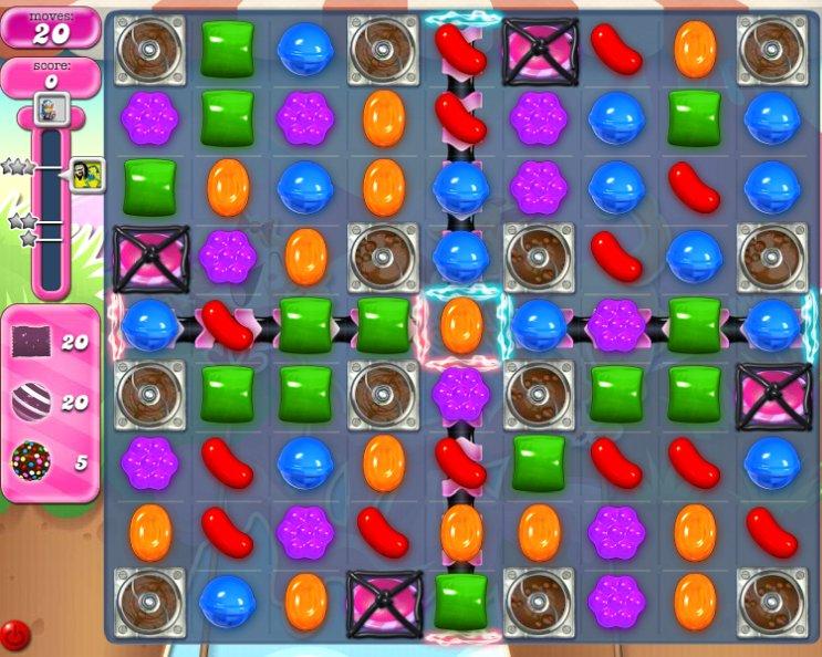 candy crush level 2253 cheats