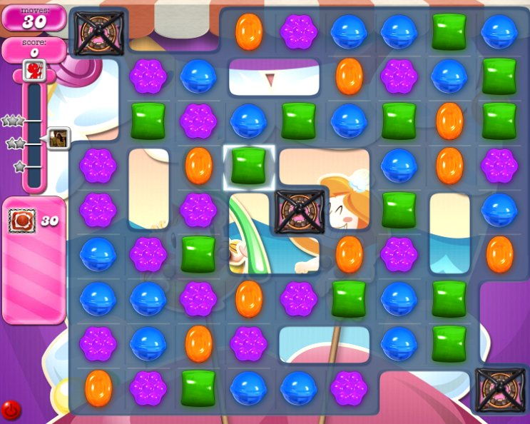 candy crush level 2262 cheats