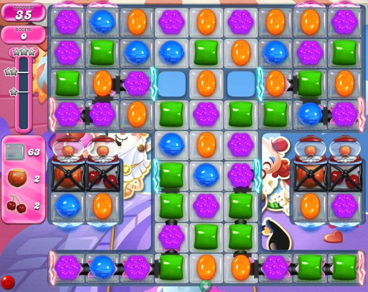 candy crush level 2280 cheats