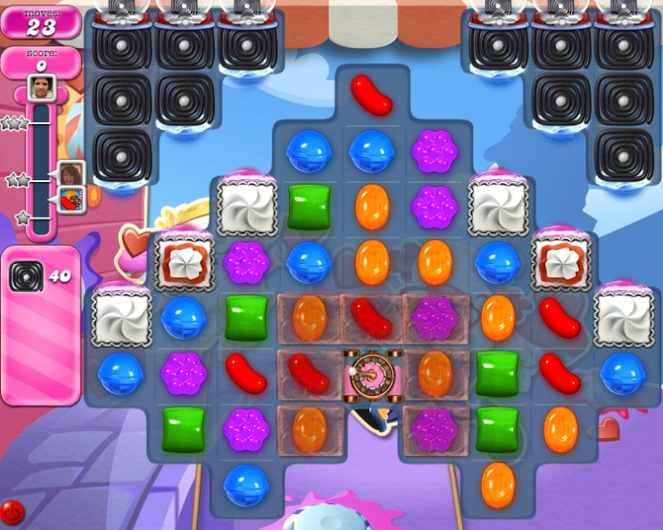 candy crush level 2284 cheats