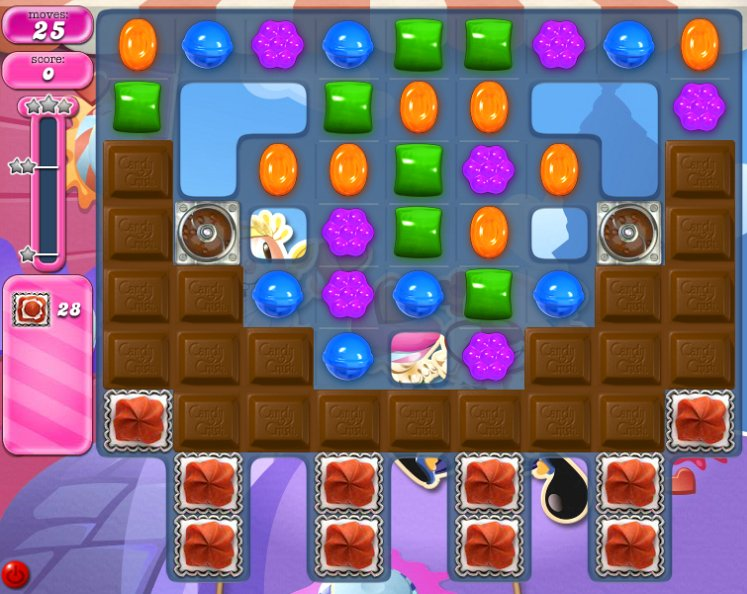 candy crush level 2285 cheats