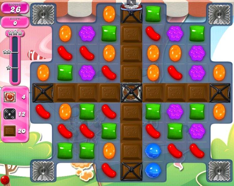 candy crush level 2287 cheats