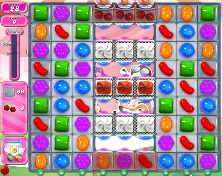 candy crush level 2291 cheats