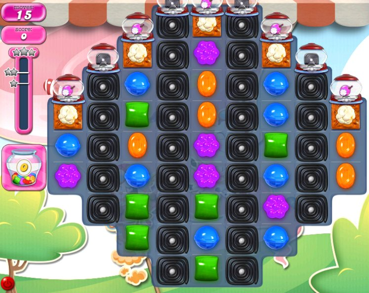 candy crush level 2292 cheats
