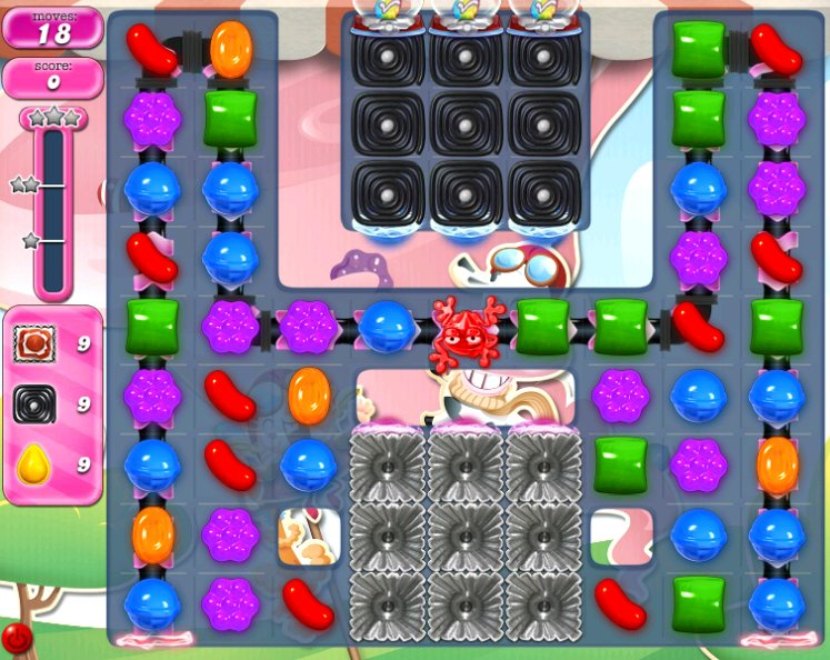 candy crush level 2296 cheats