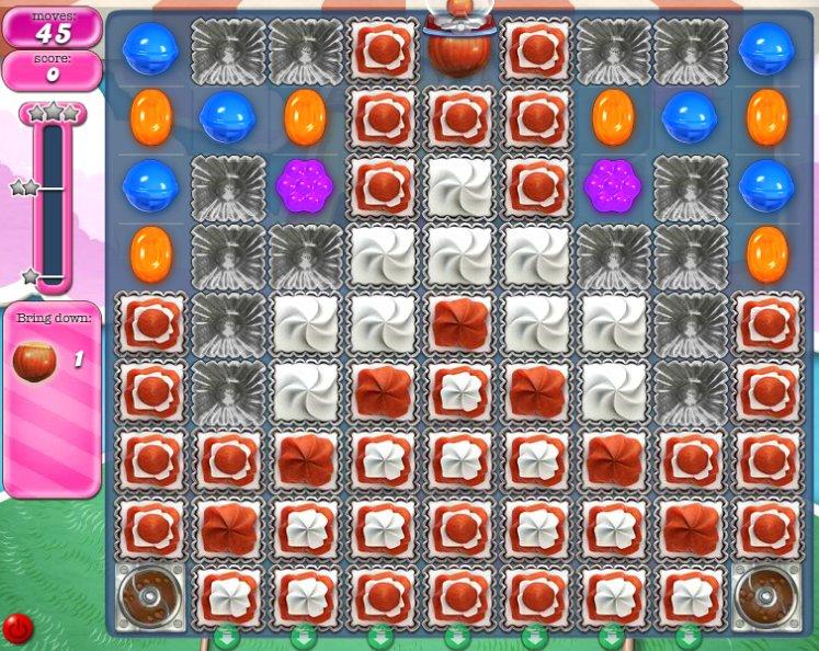 candy crush level 287 cheats
