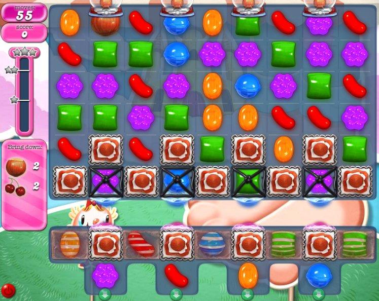 candy crush level 288 cheats