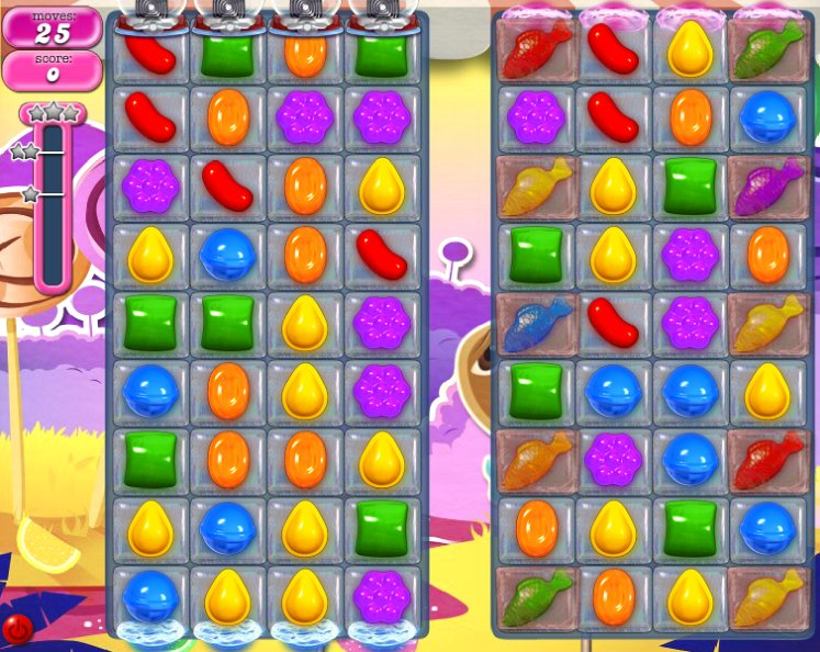candy crush level 293 cheats