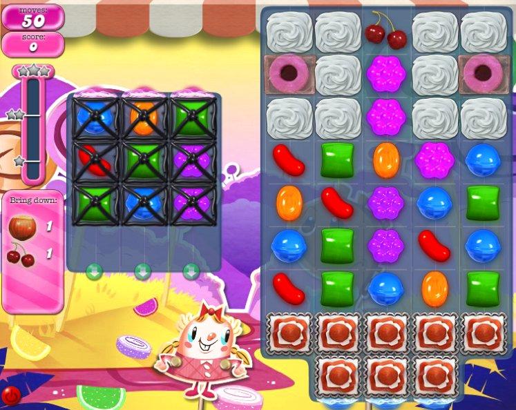 candy crush level 296 cheats