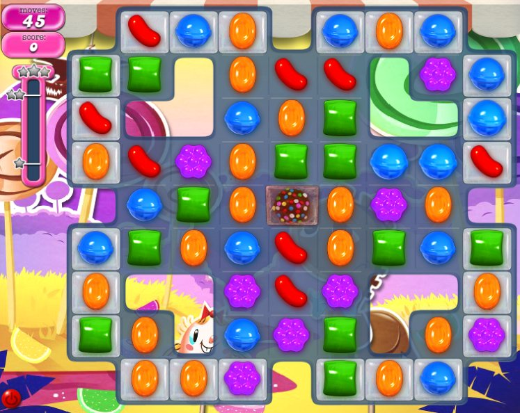 candy crush level 298 cheats