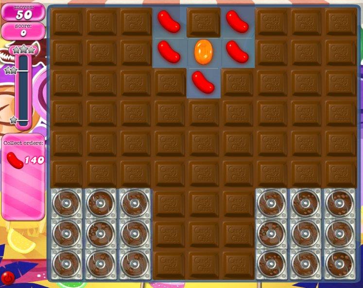 candy crush level 299 cheats