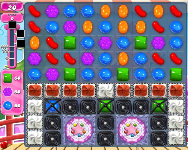 candy crush level 377 cheats