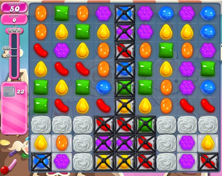 candy crush level 37 cheats