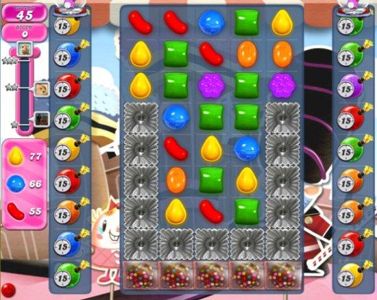candy crush level 391 cheats