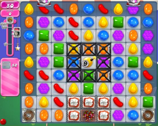 candy crush level 399 cheats