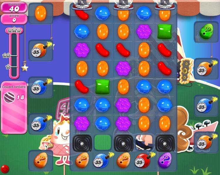 candy crush level 407 cheats