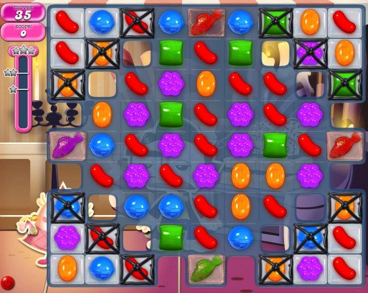 candy crush level 524 cheats
