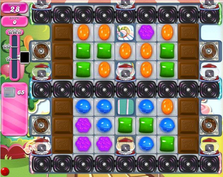 candy crush level 588 cheats