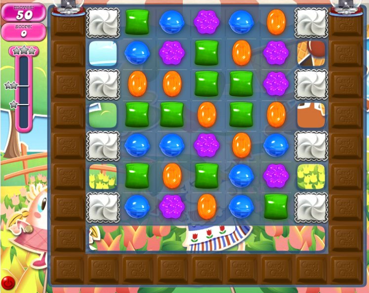 candy crush level 591 cheats