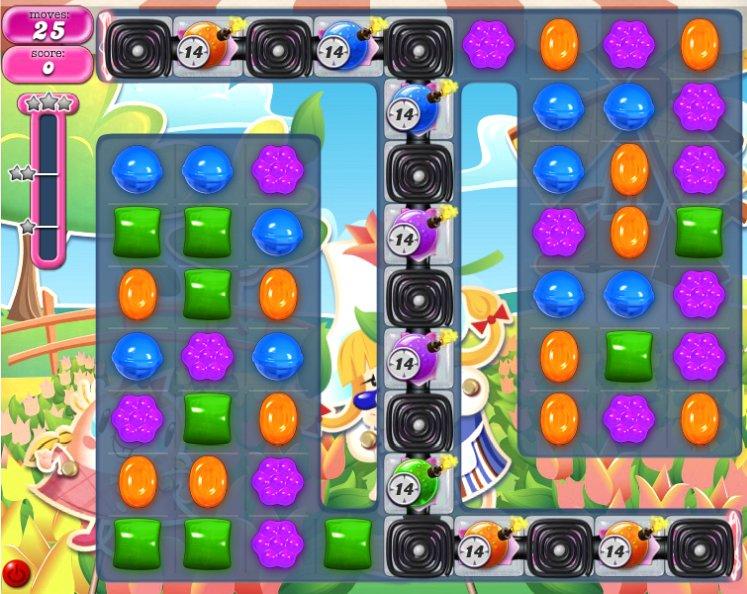 candy crush level 596 cheats