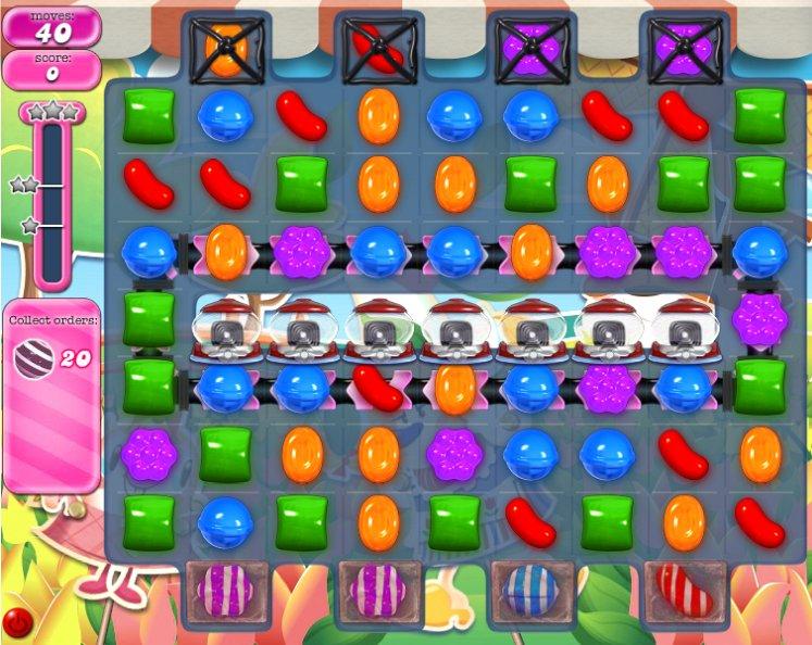 candy crush level 599 cheats