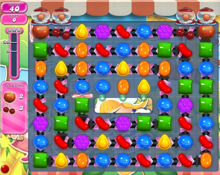 candy crush level 601 cheats