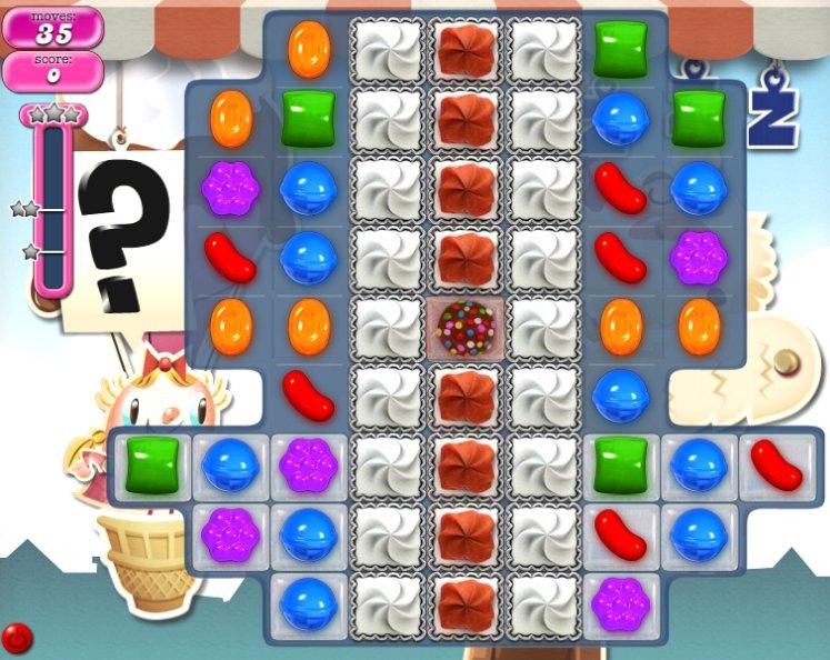 candy crush level 697 cheats