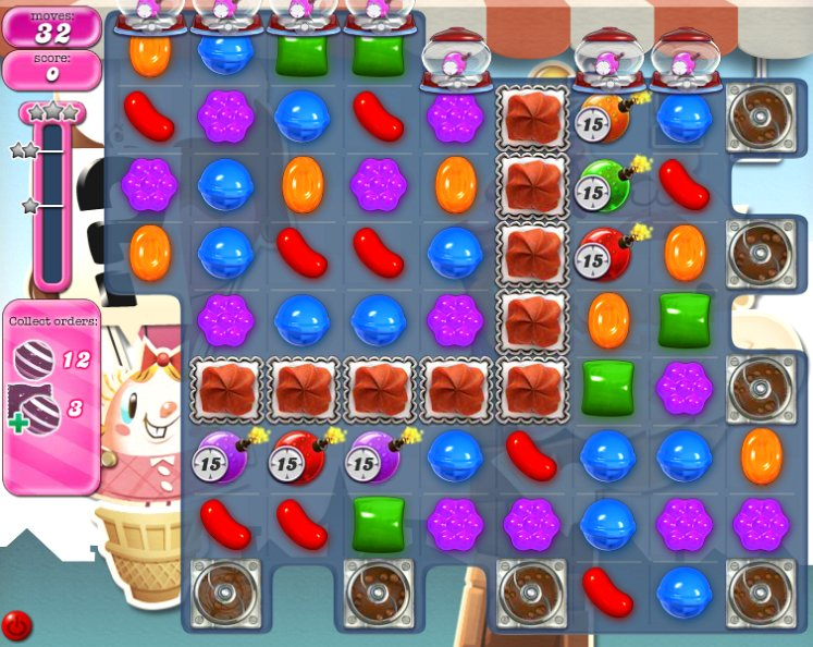 candy crush level 699 cheats