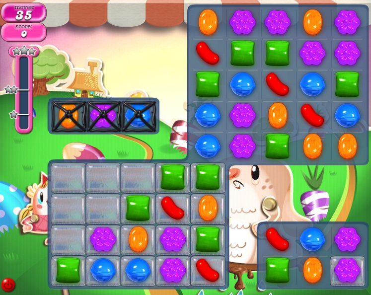 candy crush level 71 cheats