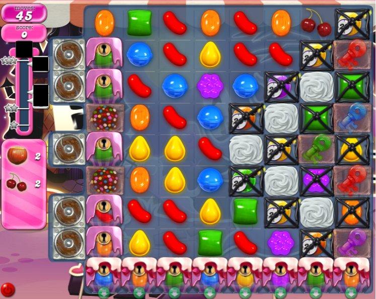 candy crush level 724 cheats
