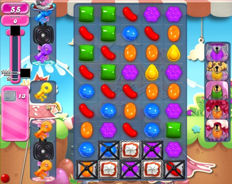 candy crush level 740 cheats