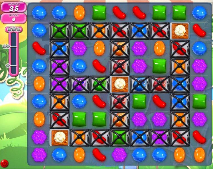candy crush level 814 cheats