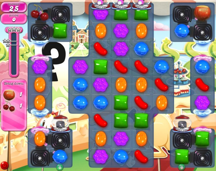 candy crush level 868 cheats