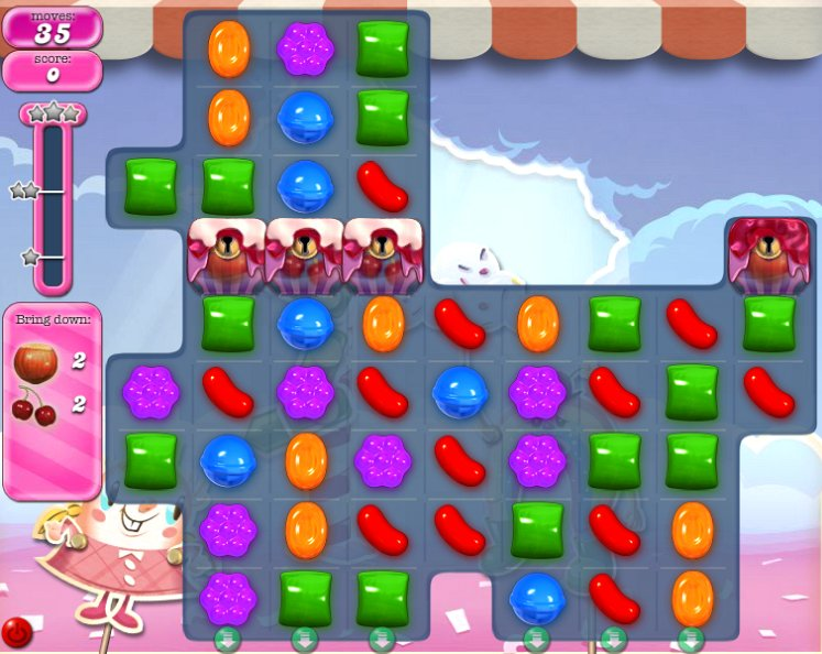 candy crush level 886 cheats
