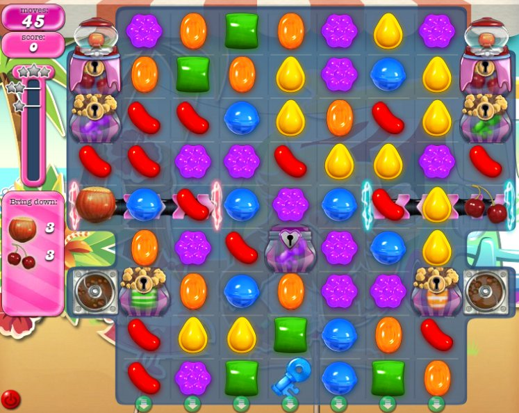 candy crush level 895 cheats