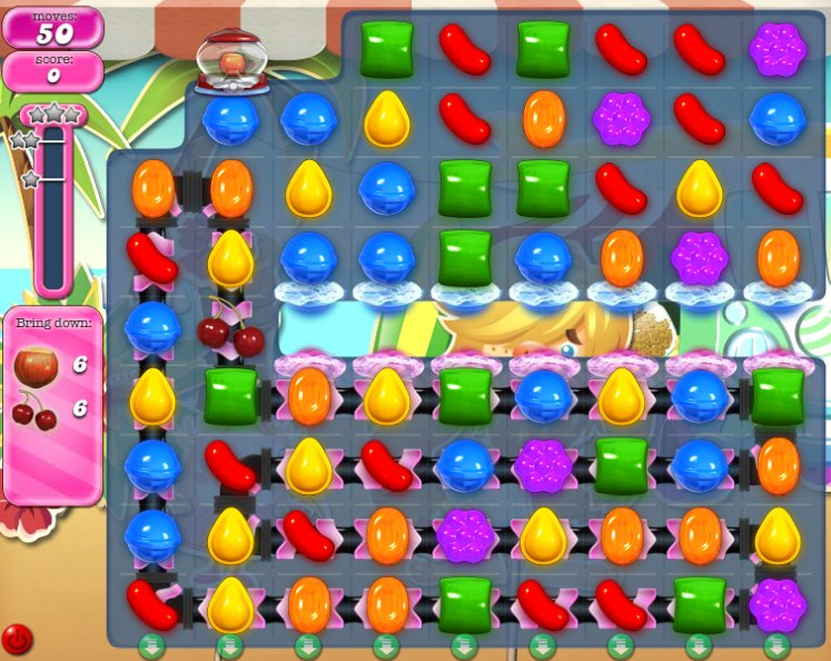 candy crush level 897 cheats