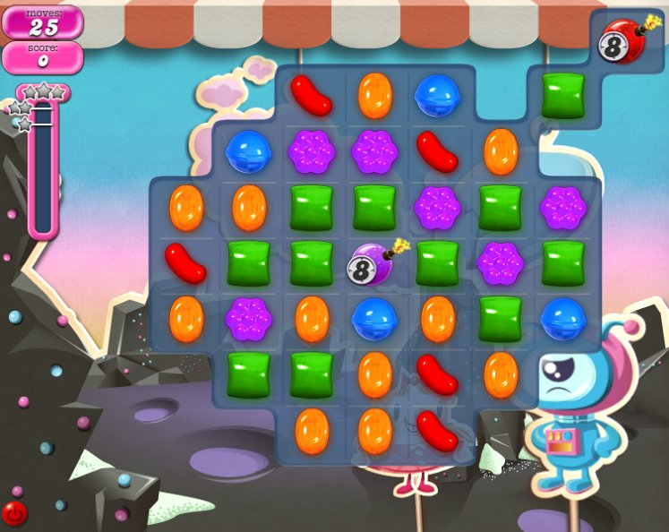 candy crush level 97 cheats